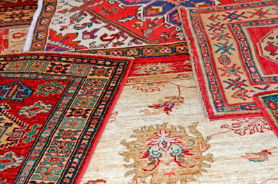 different types of oriental rugs