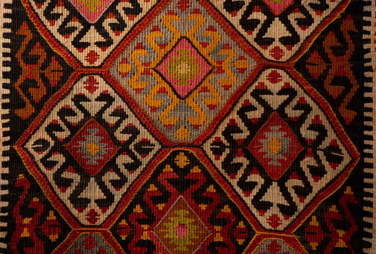 colorful oriental rug