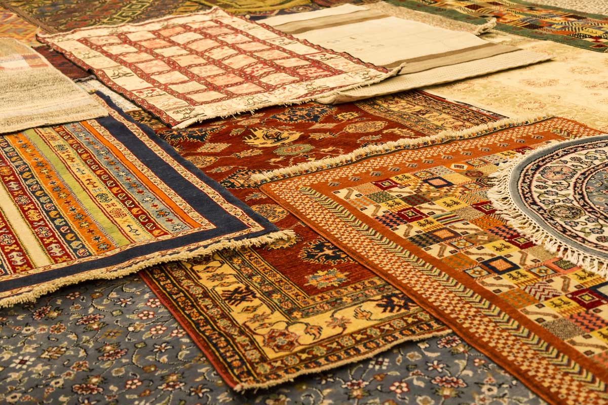 traditional rugs which can be damaged