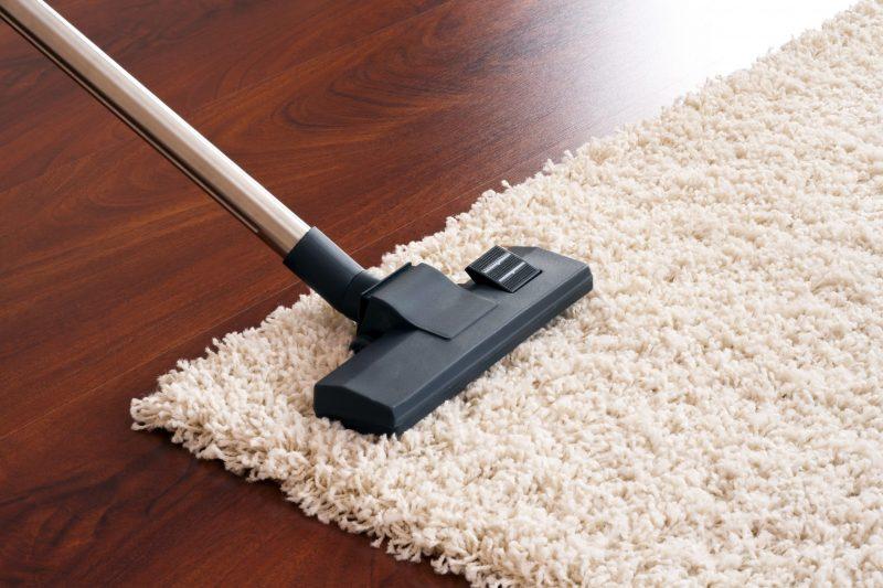 rug pad clean