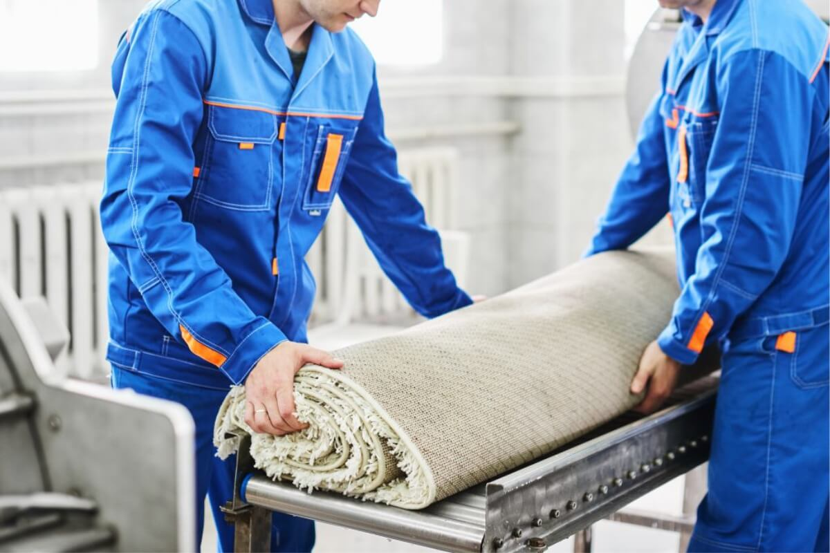dry cleaning rugs