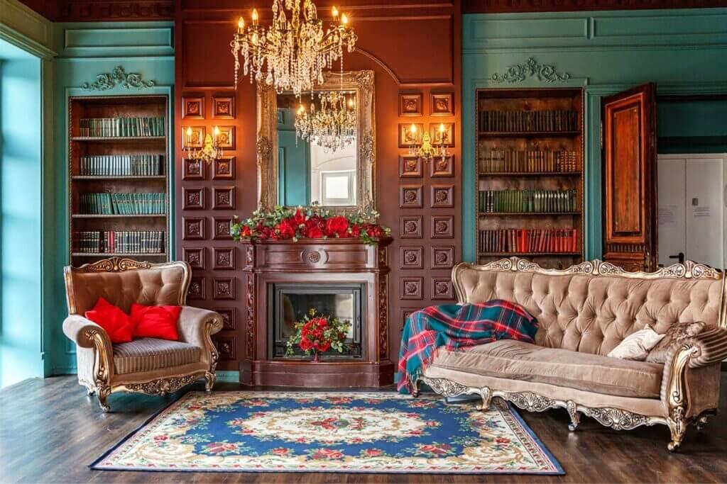 rug living room centerpiece